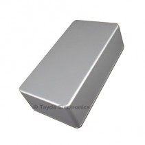 125B Style Aluminum Diecast Enclosure Ball Silver