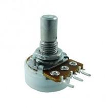 100K OHM Linear Taper Potentiometer Pot Round Shaft PCB Mount