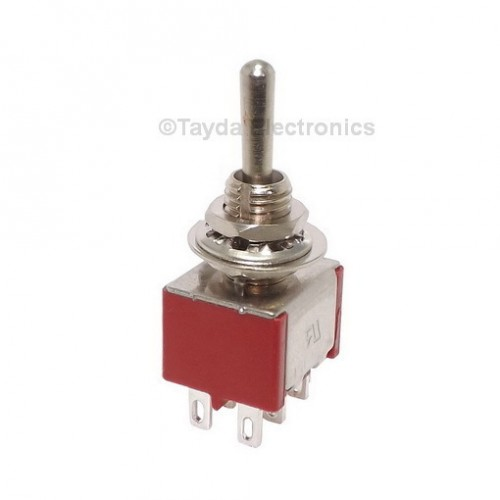Mini Toggle Momentary Switch Dpdt On Off On