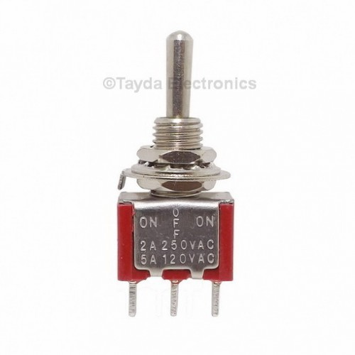 Mini Toggle Momentary Switch Spdt On