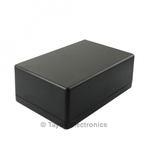 plastic project box Shop electromart abs black plastic electronics project box  enclosure 150 x 80 x 50mm free delivery and returns on eligible orders.