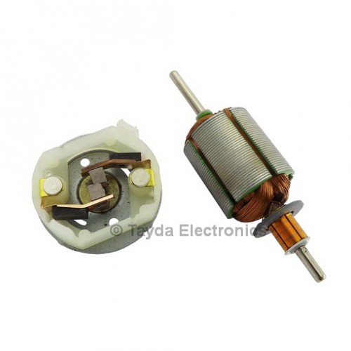 dc motor 12v 50ma 5 poles carbon brushes