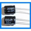 100uF 50V 105C Radial Electrolytic Capacitor 8x11mm