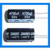 4700uF 50V 105C Radial Electrolytic Capacitor 19x40mm