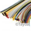 20cm Yellow Heat Shrink Tubing 6mm