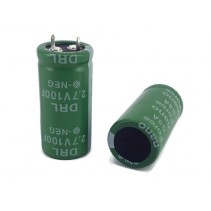 Super Capacitor 100F 2.7V 22x47mm