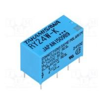 Mini Relay DPDT RY-24W-K-UL 24VDC 8PIN 2Poles 1A