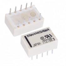 Mini Relay DPDT A-4.5W-K 4.5VDC 10PIN 2Poles 1A