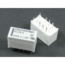 Mini Relay DPDT NA-12W-K 12VDC 8PIN 2Poles 1A