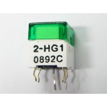 illuminated Tact Switch LED Green Color