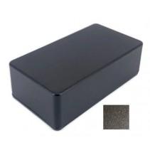 125B Style Aluminum Diecast Enclosure Matte Black Sand Texture