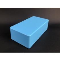 125B Style Aluminum Diecast Enclosure Matte Light Blue