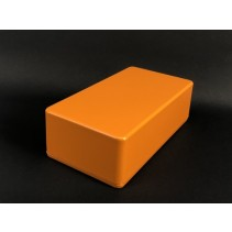 125B Style Aluminum Diecast Enclosure Matte Orange