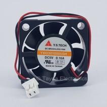 DC Brushless  Fan 5VDC 0.16A 1.2 Inch