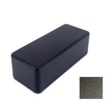 1590A Style Aluminum Diecast Enclosure Matte Black Sand Texture