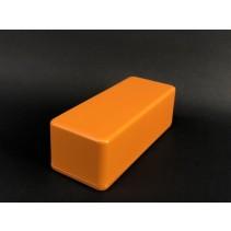1590A Style Aluminum Diecast Enclosure Matte Orange