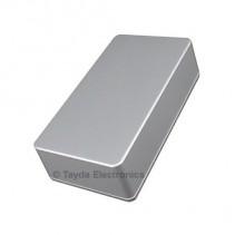 1590B Style Aluminum Diecast Enclosure Ball Silver