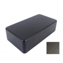1590B Style Aluminum Diecast Enclosure Matte Black Sand Texture