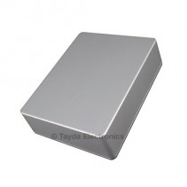 1590BB Style Aluminum Diecast Enclosure Ball Silver