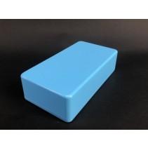 1590B Style Aluminum Diecast Enclosure Matte Light Blue