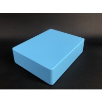 1590BB Style Aluminum Diecast Enclosure Matte Light Blue