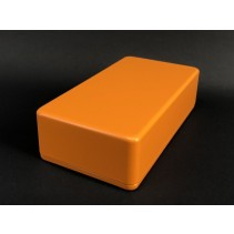 1590B Style Aluminum Diecast Enclosure Matte Orange