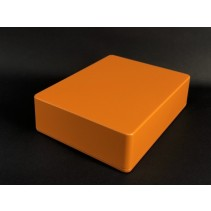 1590BB Style Aluminum Diecast Enclosure Matte Orange