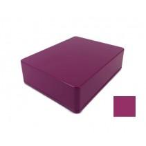 1590BB Style Aluminum Diecast Enclosure Matte Violet