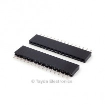 15 Pin 2.54mm Single Row Female Pin Header
