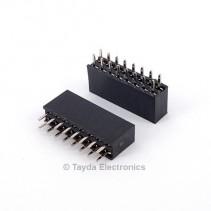2x8 Pin 2.54mm Double Row Female Pin Header