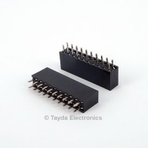 2x10 Pin 2.54mm Double Row Female Pin Header