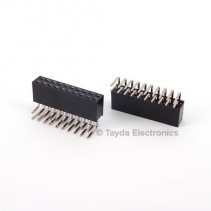 2x10 Pin 2.54mm Double Row Right Angle Female Pin Header