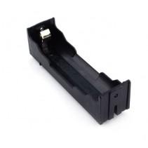 1x18650 Lithium Battery Holder Case Black 3.7V