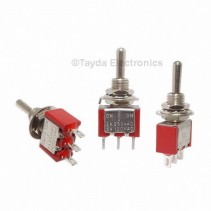Mini Toggle Momentary Switch SPDT On-Off-On