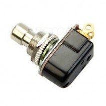 SPST Momentary Soft Touch Short Shaft Push Button Stomp Foots / Pedal Switch