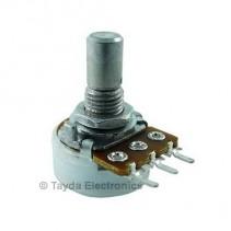5K OHM Anti-Log Taper Potentiometer PCB Mount Round Shaft