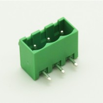 3 Pin Male Plug-In Type Vertical Terminal Block 5mm 5EHDRC