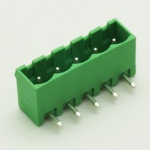 5 Pin Male Plug-In Type Vertical Terminal Block 5mm 5EHDRC