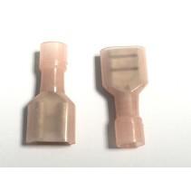 Full-Insulating Female Nylon Crimp terminal AWG 22-16 FDFN 1.25-250