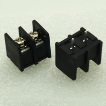 2 Pins Barrier Terminal Block 7.62mm