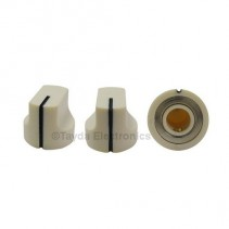 KN1611 ABS Cream Knob 17x15mm