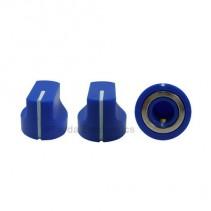 KN1611 ABS Blue Knob 17x15mm
