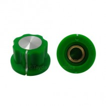 Boss Style Green Knob 20x12mm