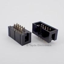 10 Pin Box Header Connector 2.54mm