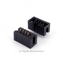 8 Pin Box Header Connector 2.54mm 2*4pin