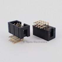 2*4 8 Pin Box Header Connector 2.54mm