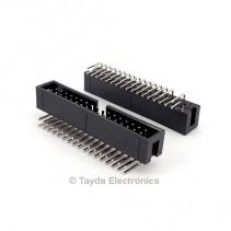 34 Pin Box Header Connector 2.54mm Right Angle 2*17pin