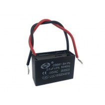 CBB61 Fan Capacitor 2.0uF 5% 450VAC 50/60Hz with Wire leads