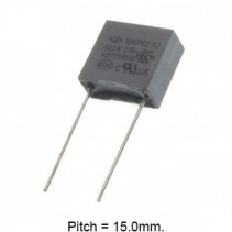 0.47uF 275V 110C 10% Metallized Polypropylene Film Capacitor