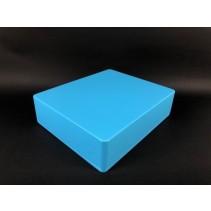 1590XX Style Aluminum Diecast Enclosure MATTE LIGHT BLUE